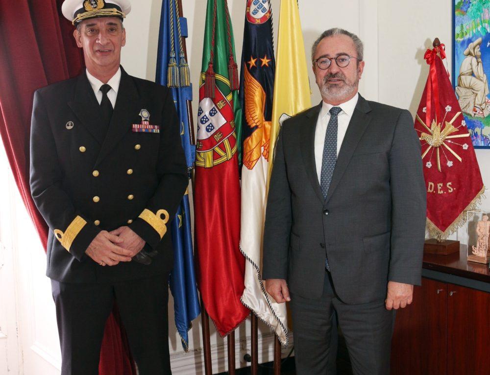Presidente do Município recebeu o novo Comandante da Zona Marítima dos Açores