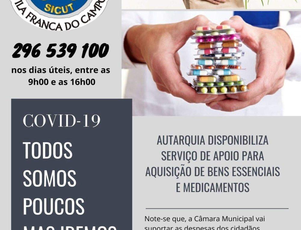 Autarquia disponibiliza serviço de apoio para aquisição de bens essenciais e medicamentos